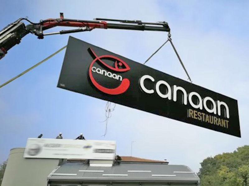 fase-di-installazione-insegna-canaan