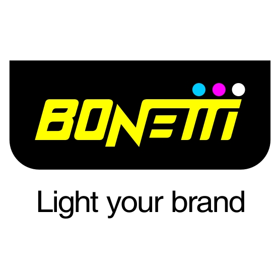 logo bonetti light your brand