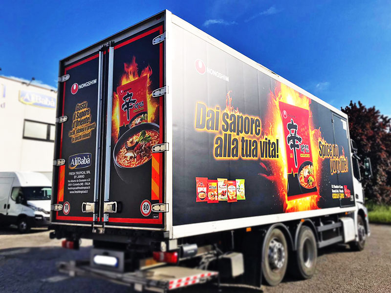 decorazione-camion-fresh-tropical-bologna